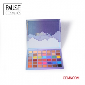 Paper box matte eyeshadow palette